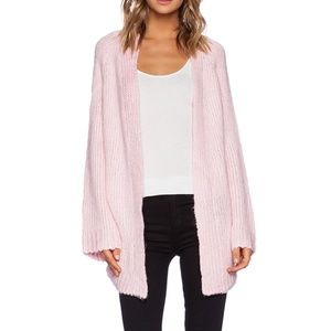 UNIF 'Mellow Cardigan' in Pink - XS